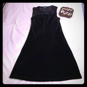 My Michelle Velour Dress Medium
